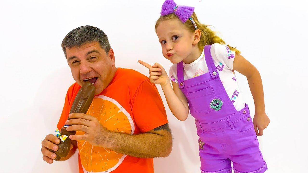 Download Nastya does good deeds and gets sweets