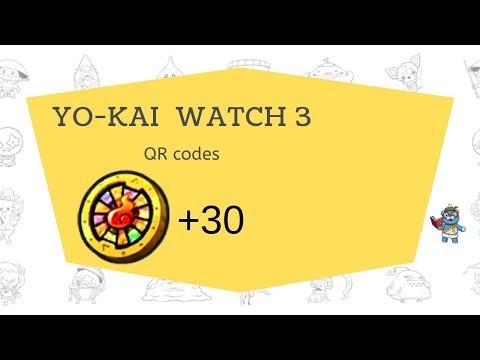 Yokai Watch Qr Codes