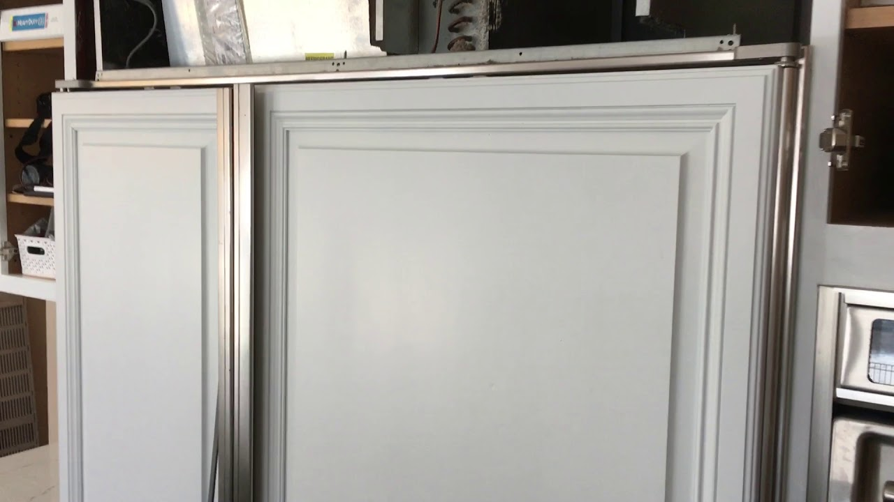 How To Remove Panels From A Sub Zero Refrigerator