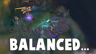 THIS MOMENT EXPLAINS HOW TRULY BALANCED AATROX IS... | Funny LoL Series #417