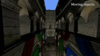 Selective rasterized ray traced reflections on the GPU