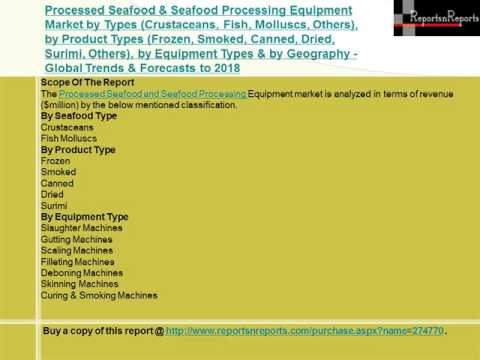Processed Seafood & Seafood Processing Equipment Market 2018