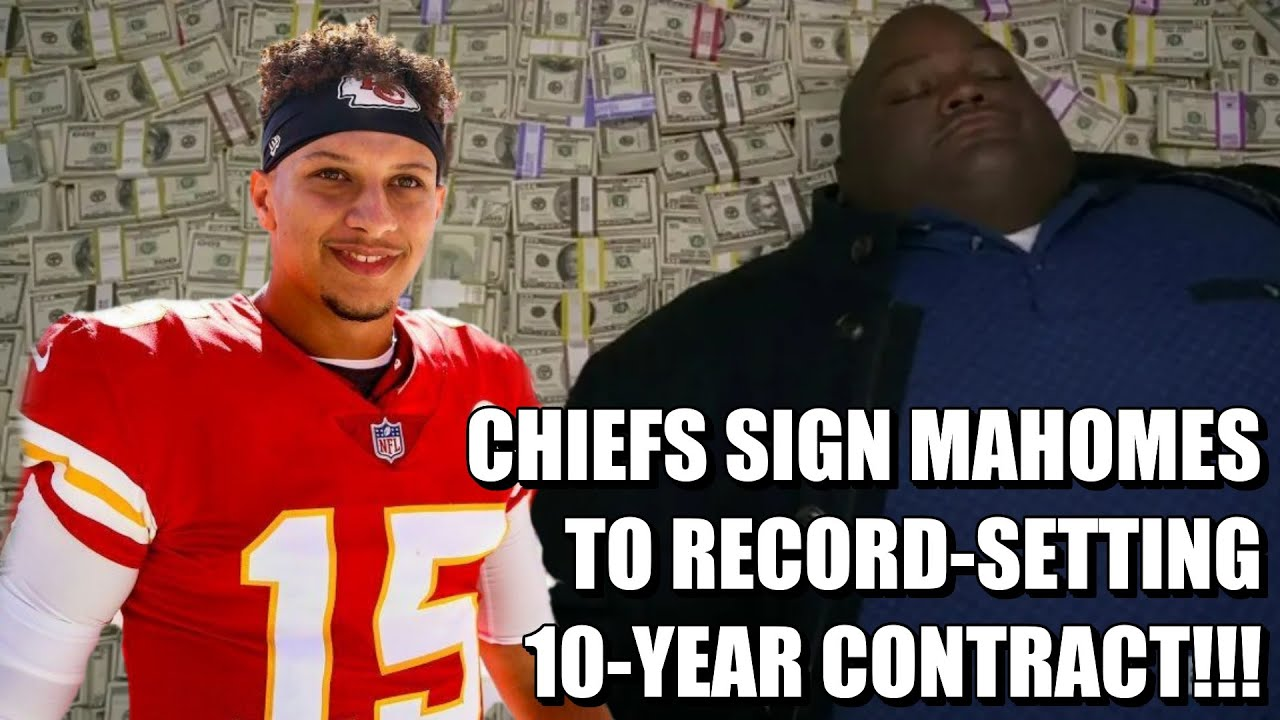 Chiefs to sign QB Patrick Mahomes to 10-year contract extension