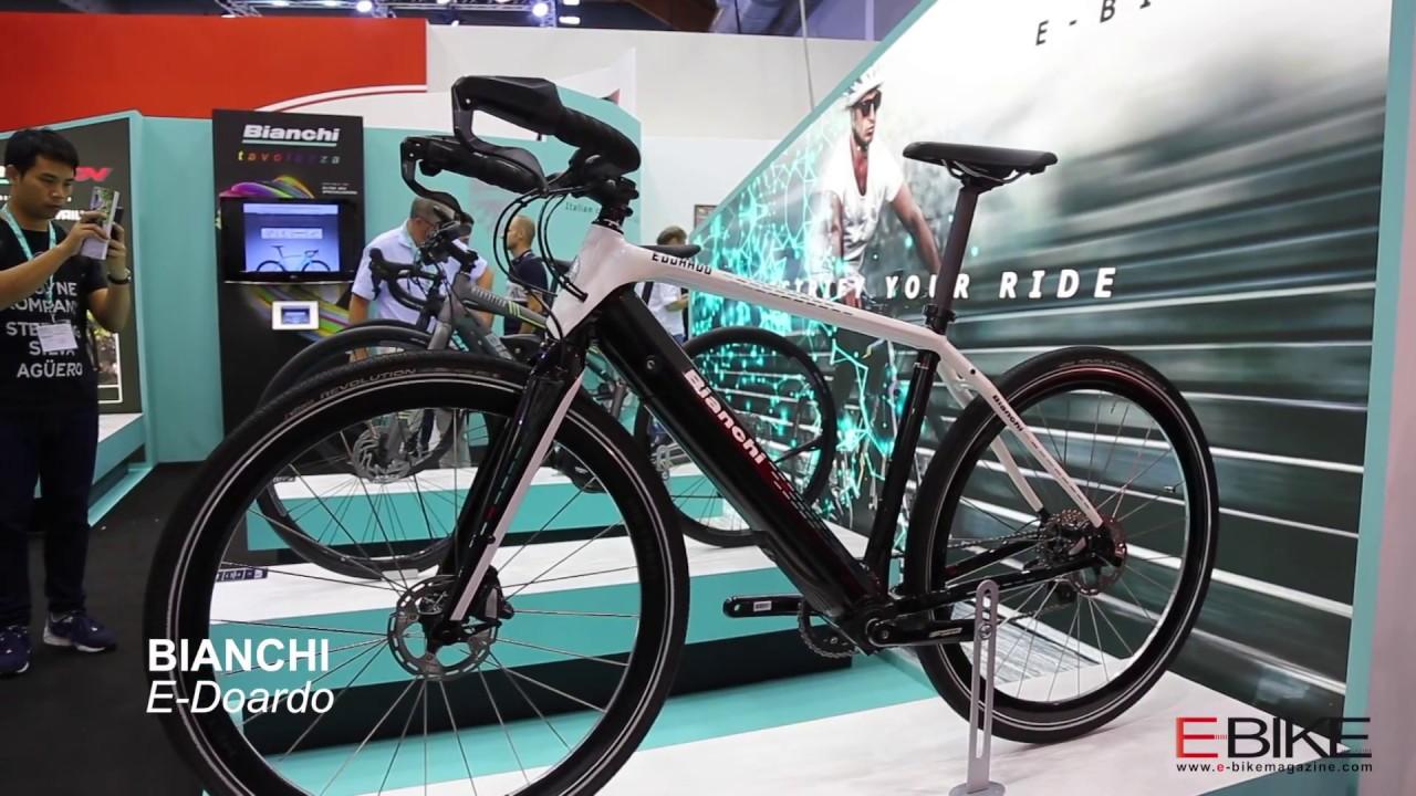 E-Bike Bianchi E-ROAD IMPULSO e E-DOARDO - YouTube
