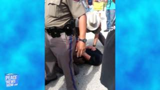 Fascist Cops Raid Reporter