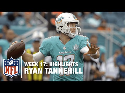Ryan Tannehill Leads the Charge, Upsets the Pats! | Patriots vs. Dolphins | NFL Week 17 Highlights