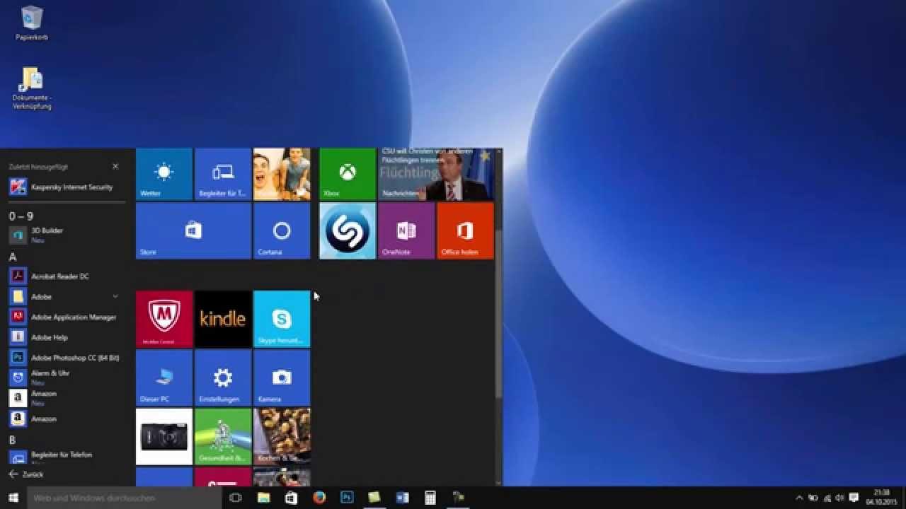 windows 10 desktop klassische ansicht