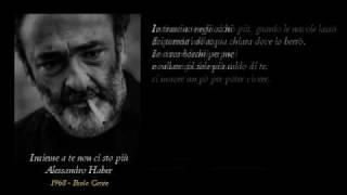Alessandro Haber - Insieme a te non ci sto più