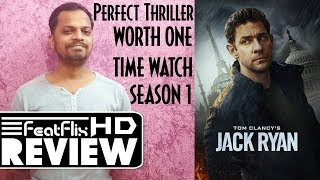 Tom Clancy's Jack Ryan (2018) Season 1 Amazon Action, Drama, Thriller Tv Series Review In Hindi