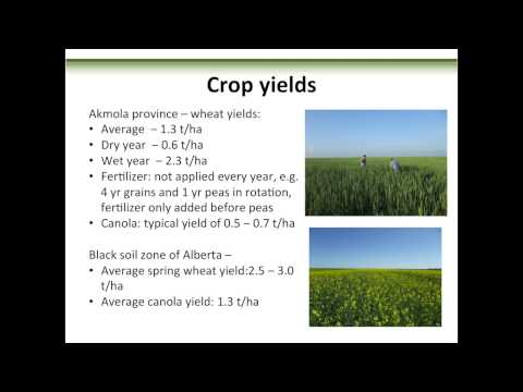Dr. Francis Larney: Comparing Soil and Crop Management in Kazakhstan and Alberta