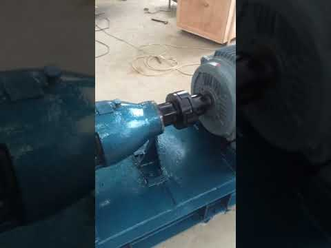 Titanium made DN250 centrifugal pump used in Sewage water treatment system .