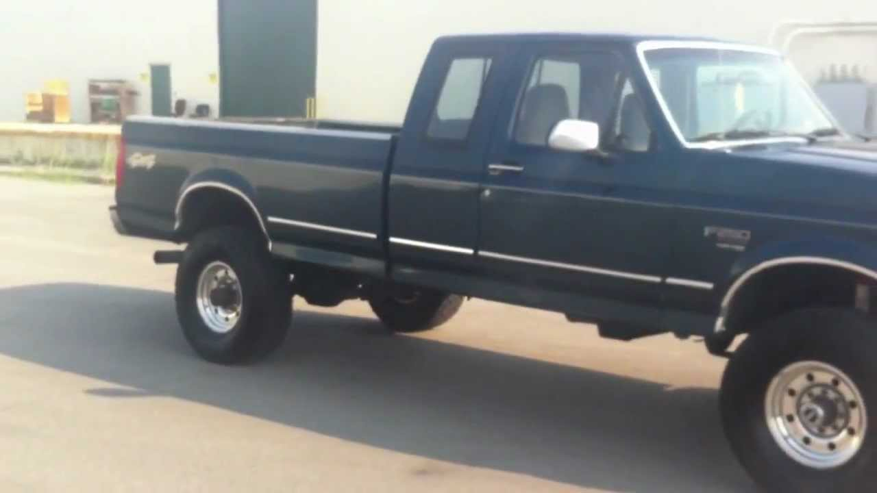 1996 FORD F250 SUPERCAB 4X4 LIFTED 197K - 7.3 POWERSTROKE ...