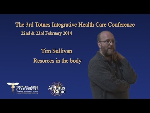 Tim  Sullivan Speaking on Resources in the body from a traditional Chinese Medical perspective.