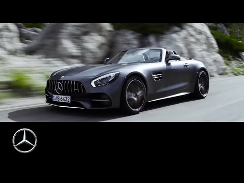 The new Mercedes-AMG GT C Roadster. Open-top driving performance. Trailer – Mercedes-Benz Original