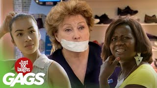 Escaped Convict, Taping People in the Mall and MORE! | Just for Laughs Compilation