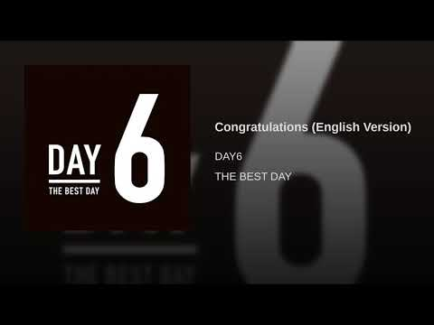 DAY6 - CONGRATULATIONS (ENGLISH VER)