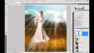 2012 04 23 Обработка свадебной фотографии Фотошоп