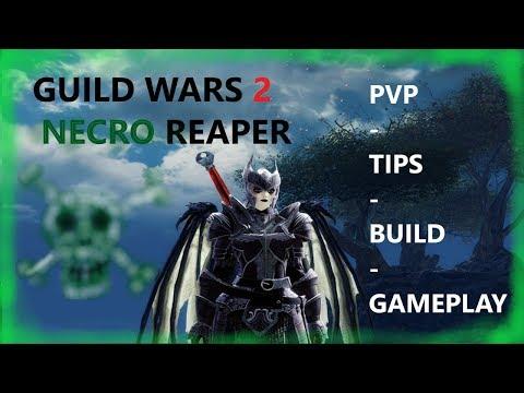 Guild Wars 2 Necro Reaper | PVP/TIPS/BUILD/GAMEPLAY | Episode 1