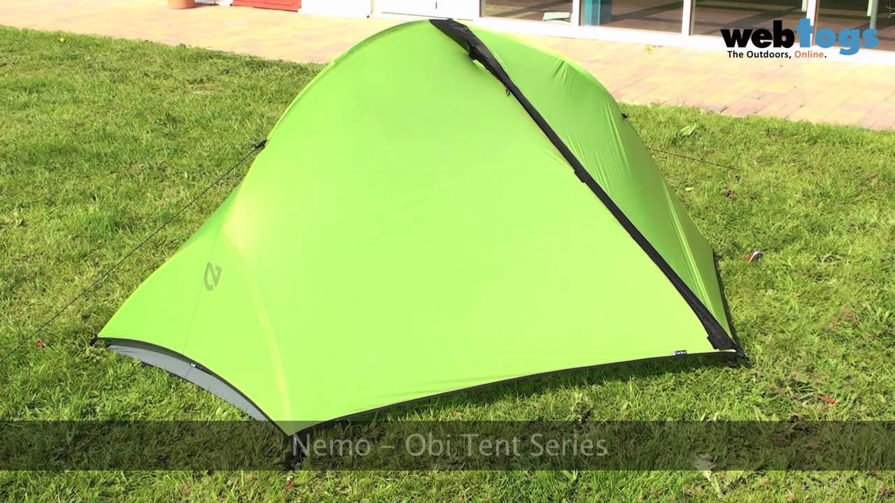 Nemo Obi Tent Series - Super Lightweight Camping Tents ...