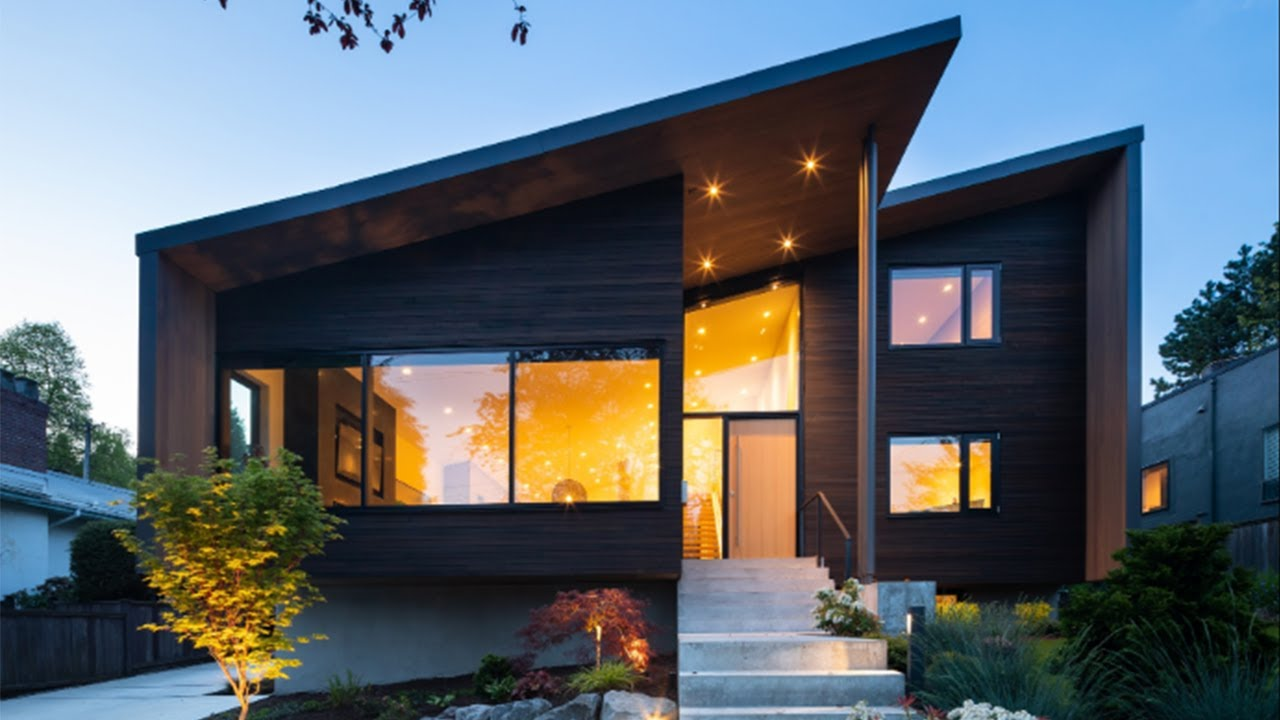 Grand Home Design Modern Architecture Vancouver Youtube