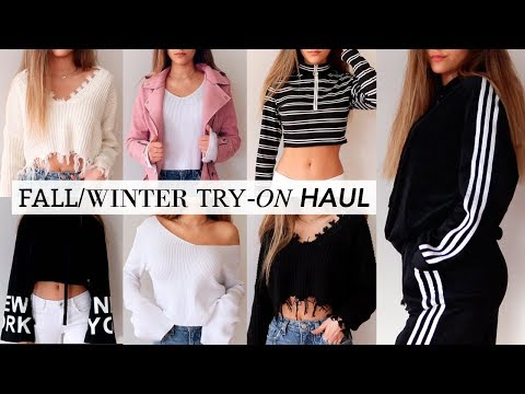 FALL/WINTER TRY-ON HAUL!!
