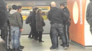 Polizei Einsatz Westbahnhof U3