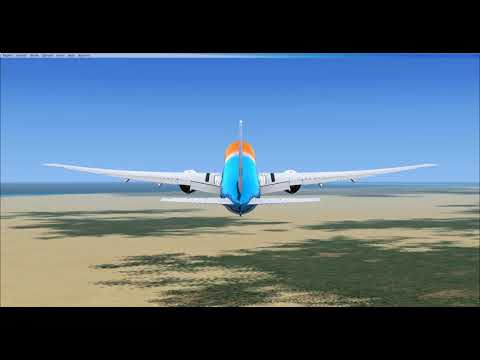 FSX: Schiphol to Accra with a 777-300ER