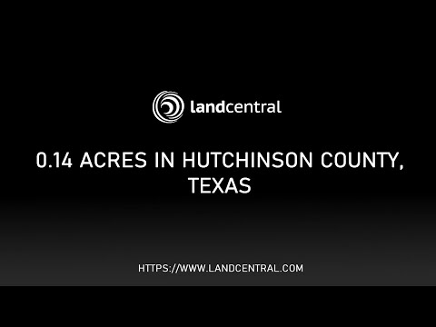 Property 12938: 0.14 acres in Hutchinson County, TX