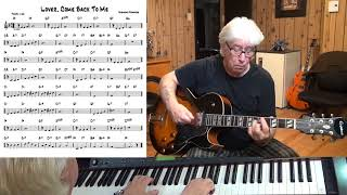 Lover, Come Back To Me - Jazz guitar & piano cover ( Sigmund Romberg )