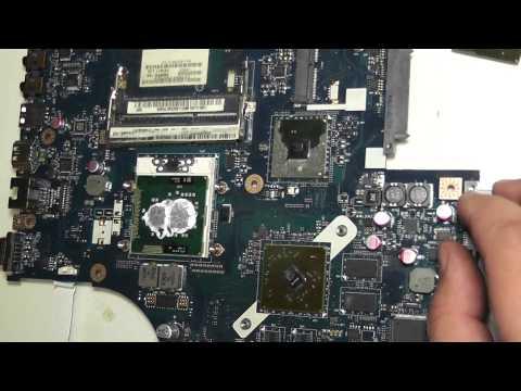 Попытка отключить дискретное видео Compal NEW70 LA-5891P меняем  madison на hd 5470 park