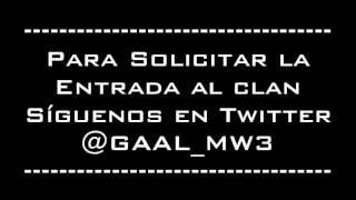 Clan [GAAL] Gama Alta del Call Of Duty Modern Warfare 3 para PS3