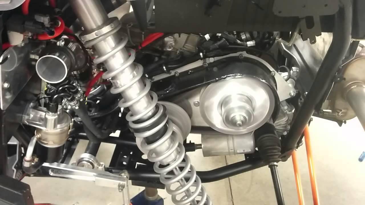 RZR 1000 Z1 turbo swap first start