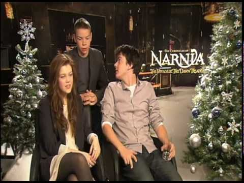 THE CHRONICLES OF NARNIA s: Liam Neeson, Georgie Henley, Skandar Keynes & Will Poulter