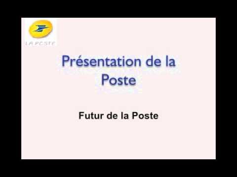 Presentation la Poste