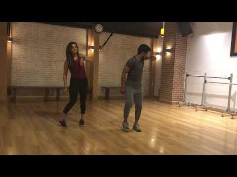 Leja Re   Dhvani Bhanushali   Basic Step   Bollyfit   Cool down   Kishan Gupta   Dance workout  