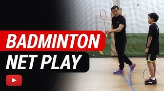 Play Better Badminton - Net Play - Coach Andy Chong