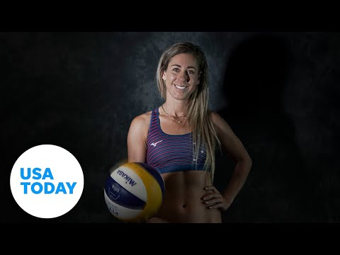 Beach volleyball player April Ross is seeking Olympic gold in Tokyo to complete her set   USA TODAY