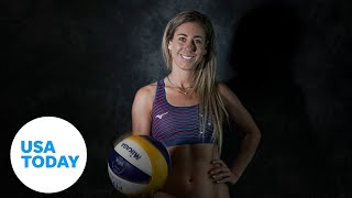 Beach volleyball player April Ross is seeking Olympic gold in Tokyo to complete her set