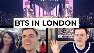 Seeing BTS in London (twice) | Niki and Sammy Vlog