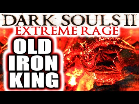 Dark Souls 2: EXTREME RAGE: Deprived NG+++ Boss Run - OLD IRON KING