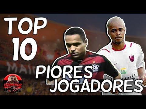 TOP 10 - PIORES JOGADORES DA HISTÓRIA DO FLAMENGO