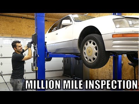 I Inspected Matt Farah's, Million Mile Lexus. Here's What's Wrong With It.