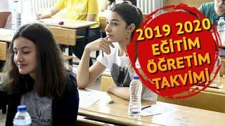 2019-2020 Okul Ara Tatil Günleri