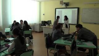 Интегрированный урок. Русский и английский языки  8 класс Маканова А.К.  г.Павлодар