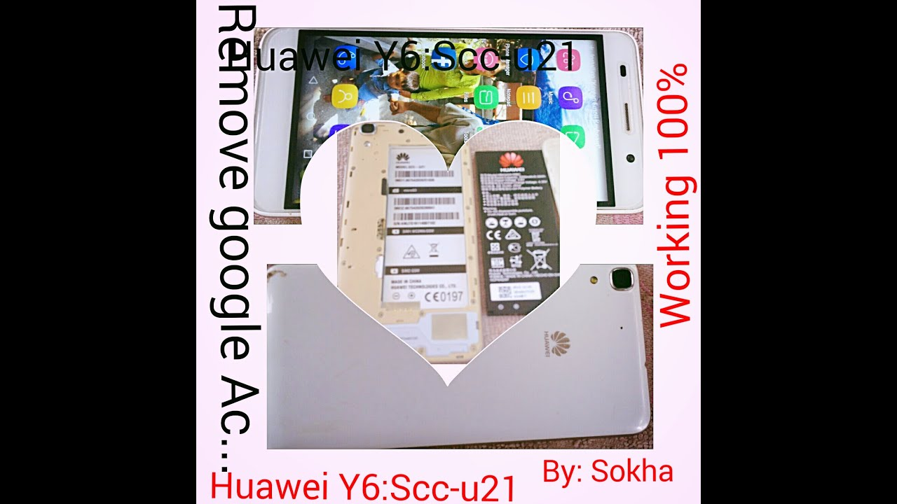 How To Remove Google Account On Huawei Y6 Scc-u21