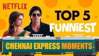 Top 5 Chennai Express Moments | Netflix India