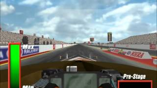 NHRA drag racing 2 gameplay