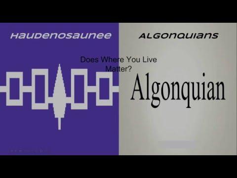 Haudenosaunee and Algonquians (Christian)