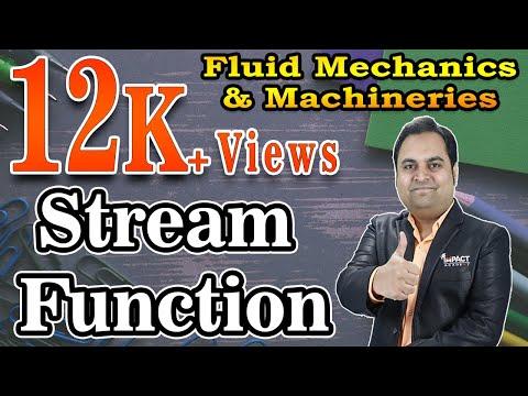 Stream Function  | Fluid Kinematics | Fluid Mechanics & Machineries |