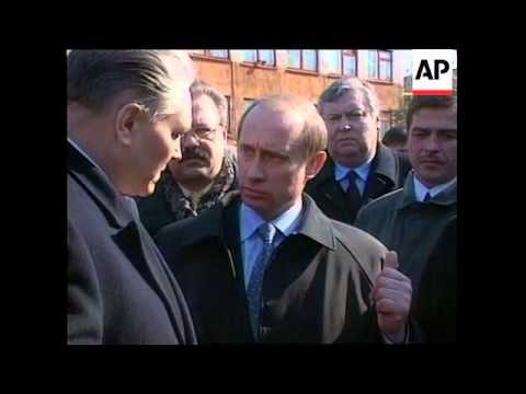 RUSSIA: PRESIDENTIAL ELECTION: PUTIN CAMPAIGN